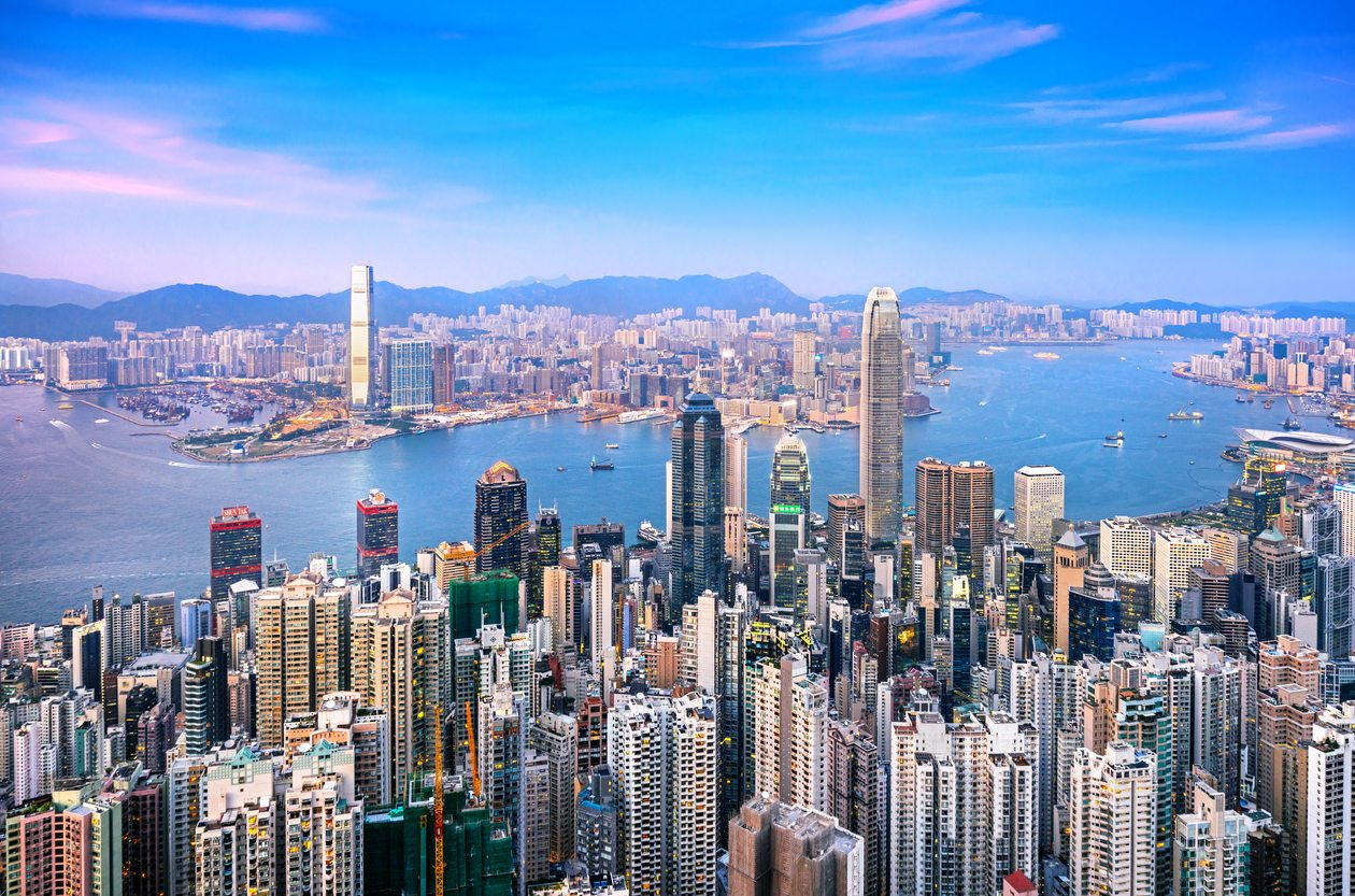 Image of Hong Kong city skyline