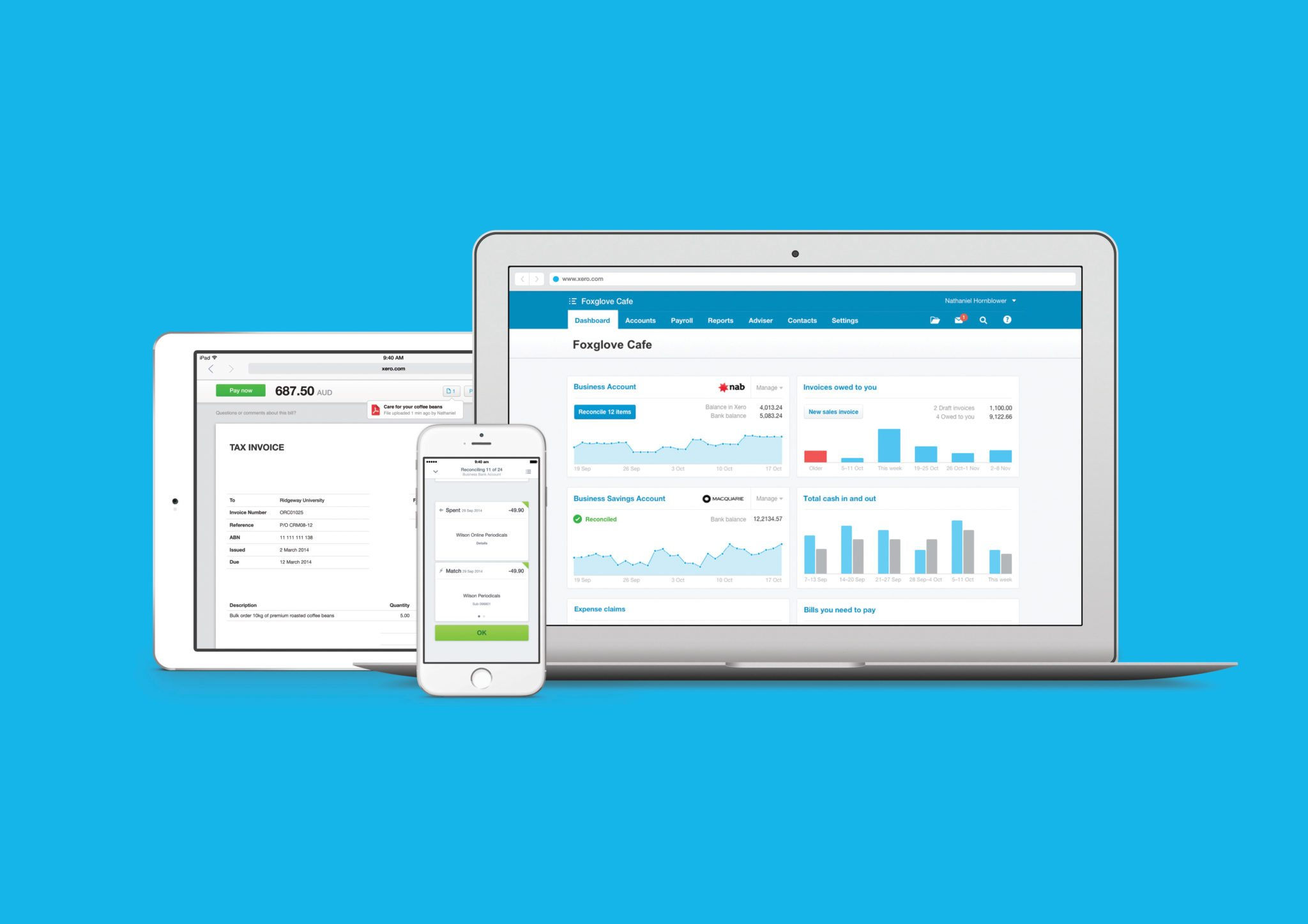 Image of Xero products