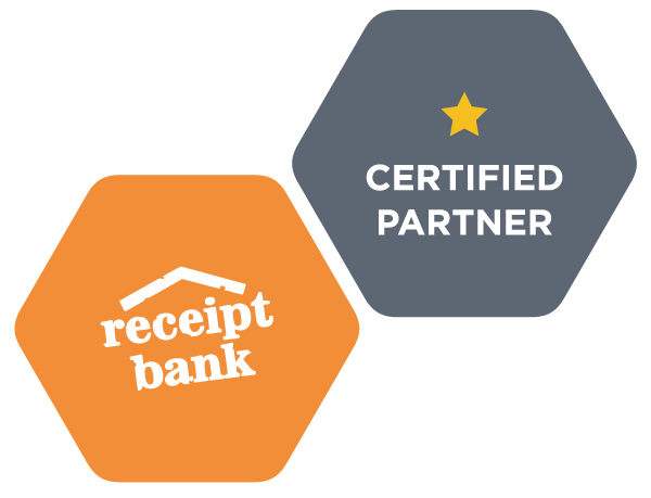 Image of the Receipt Bank Certification Badge